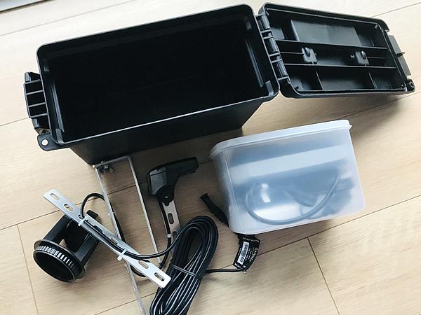 魚探用バッテリーボックス