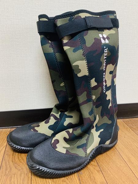 カヤック用に防水の長靴
