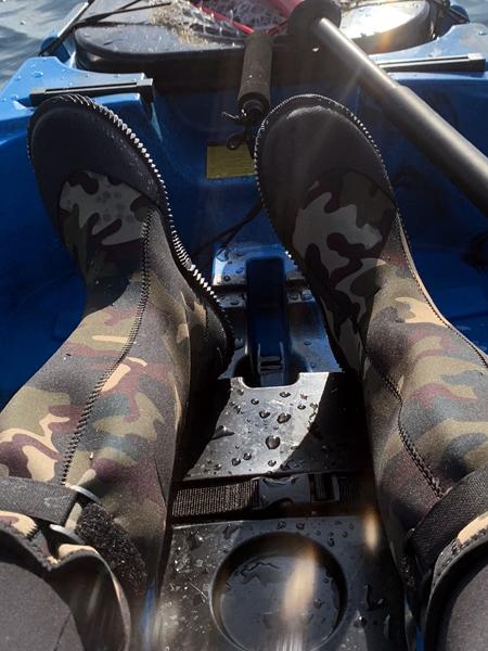 グリーンマスターの長靴は釣り・カヤックに最適