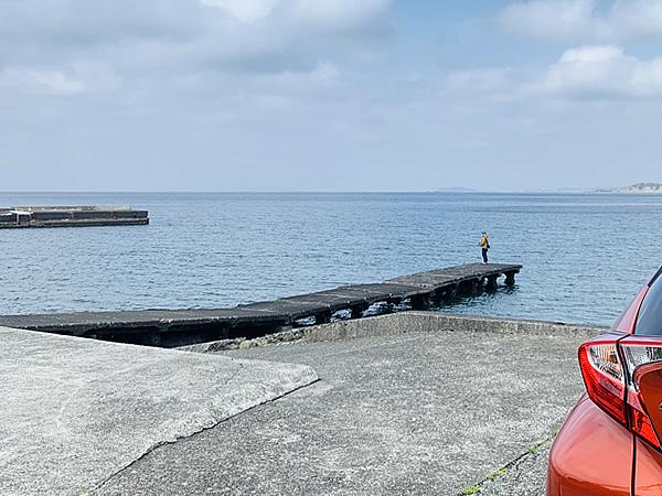 秋谷漁港で防波堤釣り