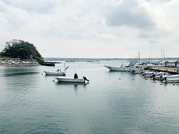 佐島漁港での防波堤釣り