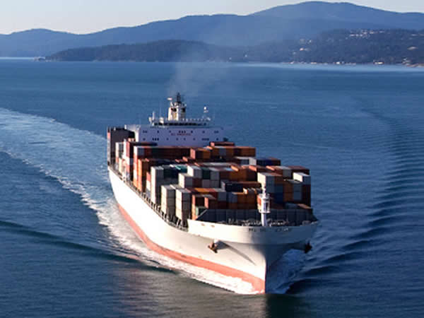 カヤック輸入の船の手配