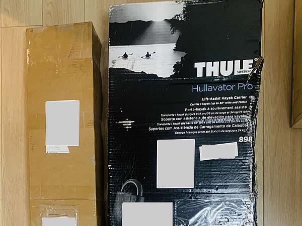 箱のダメージ