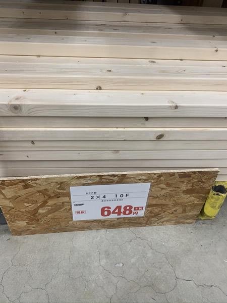 ホームセンターで木材を安く購入
