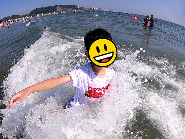 アクションカメラで撮影した水しぶき