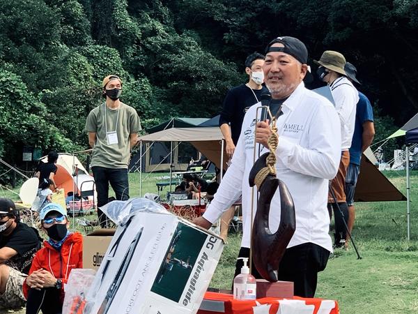 ファンキー山岡さんのカヤック安全講習