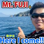 感動!南伊豆で富士山を海から眺める