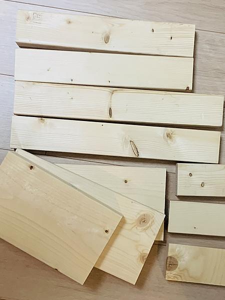 CAINZで木材をカットしてもらう